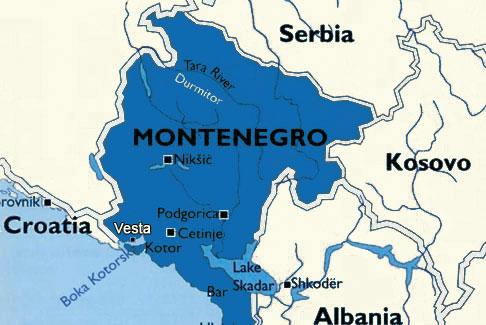 maps of montenegro. Montenegro Maps